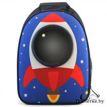 Рюкзак-переноска для животных Triol «Ракета»