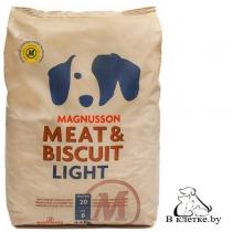 Диетический корм Magnusson Meat & Biscuit Light
