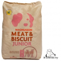 Запеченый корм Magnusson Meat & Biscuit Junior