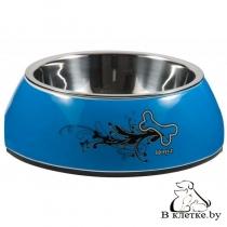 Миска для собак Rogz TurQ Chrome Small