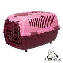 Переноска для животных до 6 кг Trixie Traveller Capri I розовая