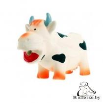 Игрушка с пищалкой для собак Lilli Pet Корова Кристи