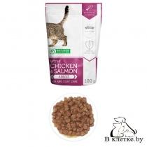 Паучи для здоровой кожи и шерсти кошек NP Skin & Coat Care, 100гр