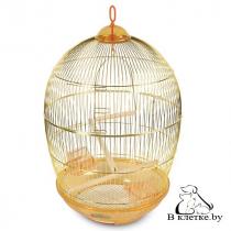 Клетка для птиц круглая Triol 480-G-K
