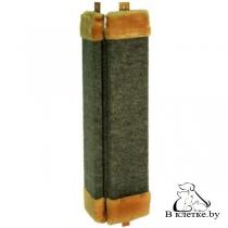 Угловая когтеточка с ковролином пропитанная Зооэкспресс-60