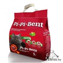 Наполнитель комкующийся Pi-Pi-Bent «Сенсация свежести» 10кг