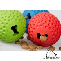 Игрушка мяч с отверстием для лакомств Rogz Gumz Medium