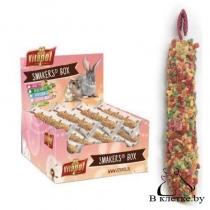 Зерновые палочки c фруктами для грызунов Vitapol Smakers Box Fruits