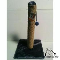 Когтеточка-столбик джут с шариком FOUR PETS TUZ107
