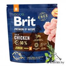 Сухой корм Brit Premium Junior M