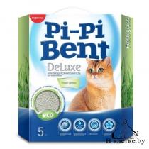 Наполнитель комкующийся Pi-Pi Bent Deluxe Fresh Grass
