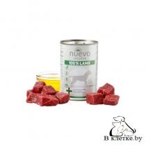 Консервы для собак Nuevo Sensitive 100% Lamb, 400гр