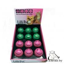 Игрушка для собак Lilli Pet Улыбающийся мяч