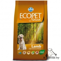 Корм Farmina Ecopet Natural Adult MEDIUM Ягненок