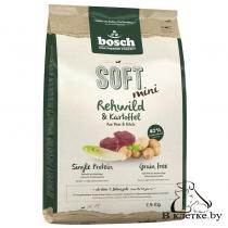Полувлажный корм Bosch Soft Mini Косуля с Картофелем