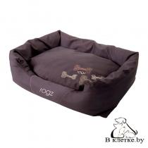 Лежак с подушкой Rogz Spice Pod Mocha Bone