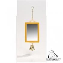 Зеркало для птиц прямоугольное ВАКА