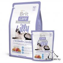 Корм для кошек с чувствит. пищеварением Brit Care Cat Lilly I've Sensitive Digestion