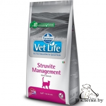 Диетический корм Farmina Vet Life Cat STRUVITE Management