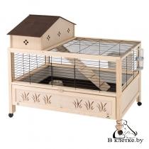Деревянная клетка для кроликов Ferplast ARENA 100 PLUS