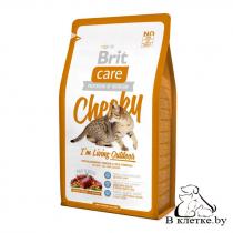 Корм для активных и уличных кошек Brit Care Cat Cheeky Outdoor