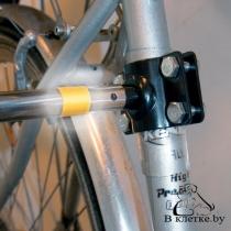 Поводок с креплением к велосипеду Trixie