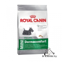 Корм для собак с чувствит. кожей Royal Canin Мini Dermacomfort