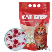 Наполнитель для кошачьих туалетов Cat Step «Клубника»