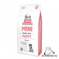Сухой корм Brit Care Mini GF Puppy Lamb