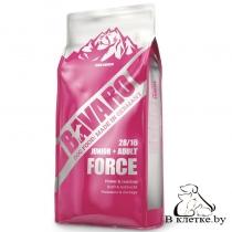 Корм для активных щенков и собак Bavaro Force