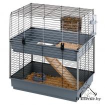 Двухэтажная клетка для морских свинок Ferplast CAVIE 80 DOUBLE