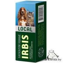 Биокапли ушные для собак и кошек Irbis Local