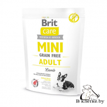 Сухой корм Brit Care Mini GF Adult Lamb
