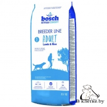 Сухой корм Bosch Breeder Adult Ягненок с Рисом