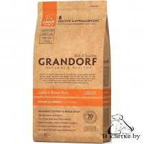 Grandorf Junior All Breeds Ягненок и Рис