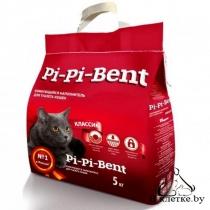 Наполнитель комкующийся Pi-Pi-Bent «Классик» 10+2 кг