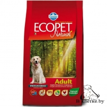 Корм Farmina Ecopet Natural Adult MEDIUM Курица