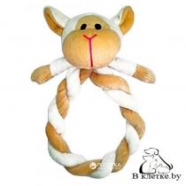 Игрушка с пищалкой для собак Lilli Pet SHEEP HEAD
