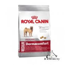 Корм для собак с чувствит. кожей Royal Canin Medium Dermacomfort