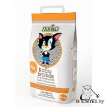 Комкующийся наполнитель с ароматом фруктов для кошачьего туалета NORIKO