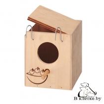 Домик-гнездо для птиц наружный Ferplast NIDO Mini