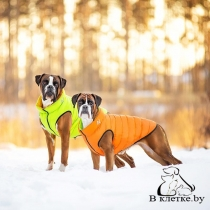 Курточка двухсторонняя AiryVest Салатово-Желтая