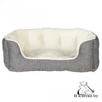 Лежак Trixie Davin серый/кремовый