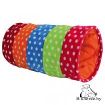 Тоннель для кошек Trixie Crunch шерсть