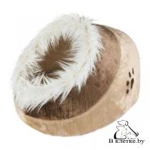 Домик Trixie Minou бежево-коричневый