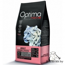 Корм Optima Nova Cat Adult Salmon & Potato
