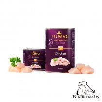 Консервы для кошек Nuevo Adult Chicken, 200гр