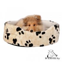 Лежанка для кошек и собак Trixie Charly-50 бежевая
