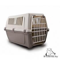 Переноска для кошек и щенков Bergamo Vision 55 Plastic