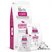 Сухой корм Brit Care Junior Large Breed Lamb & Rice